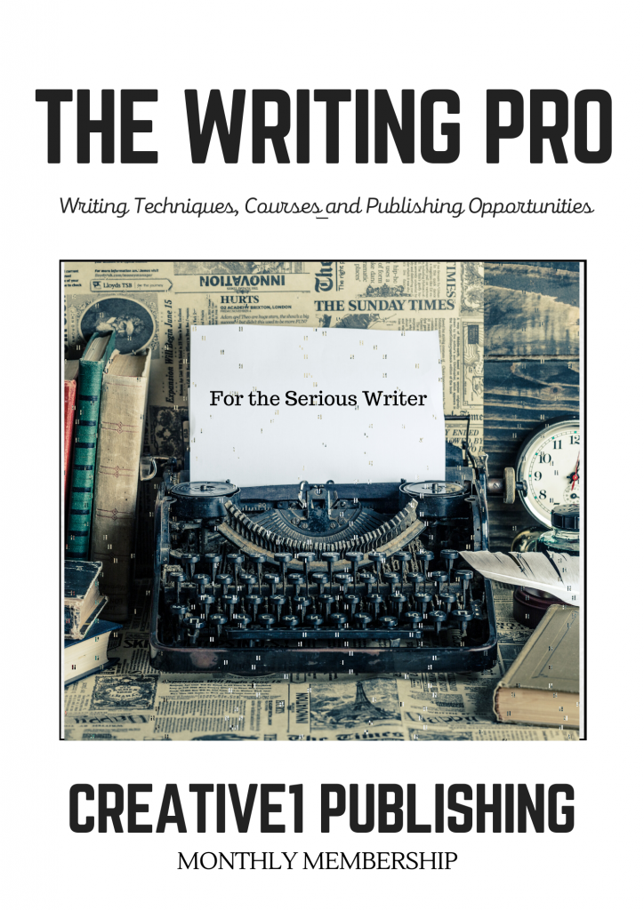 Creative1 Publishing Writing Pro Membership